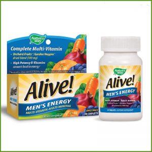 Alive Men's Energy 50 viên