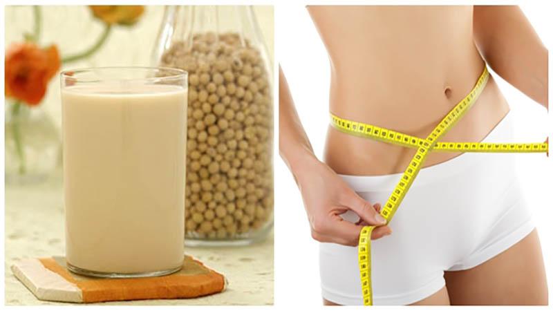 Kinh nghiệm giảm cân với sữa đậu nành